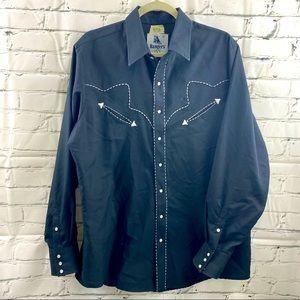 Vintage ranchers snap up cowboy shirt